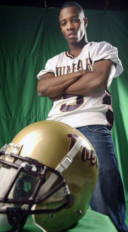 Dunbar's Tavon Austin is the All-Metro Offensive Player of the Year for football.