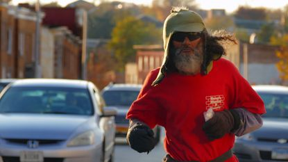 Keith Boissiere, aka Baltimore's Running Man, said he was attacked Friday afternoon while on one of his famous jogs around the city.