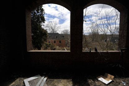 The Henryton complex, originally built in 1922 as a sanitarium for African-Americans with tuberculosis. Four decades later it was employed as a facility for developmentally disabled adults. Closed since 1985, there've been 70 fires there over the past decade, including one within the last two weeks, local fire officials say.