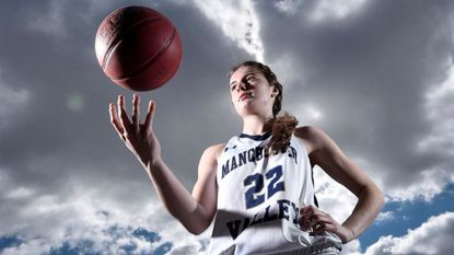 Manchester Valley senior Mackenzie DeWees is the 2018 Carroll County Times Girls Basketball Player of the Year.