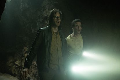 Bill Hader (left) and James Ransone star in 'It Chapter Two.'