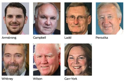 Candidates for District 5 in the Arundel County Council race.