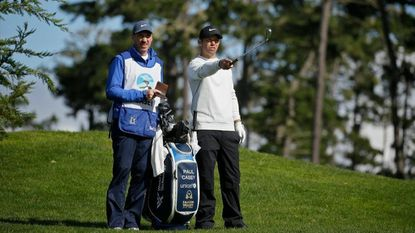 Casey leads by 3 over Mickelson at Pebble Beach