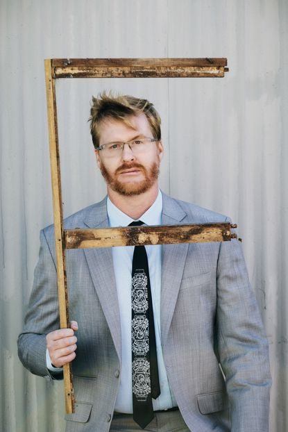 Comedian Kurt Braunohler, a Johns Hopkins University alum, performs at Creative Alliance on Sunday.