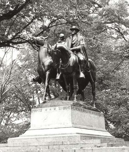 The Jackson-Lee Monument in Wyman Park