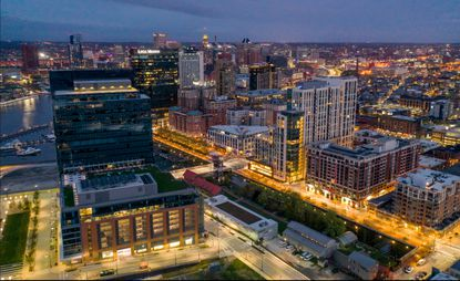 Much of the growth in downtown Baltimore over the past few years has been centered on Harbor Point and Harbor East. (Jerry Jackson/Baltimore Sun).