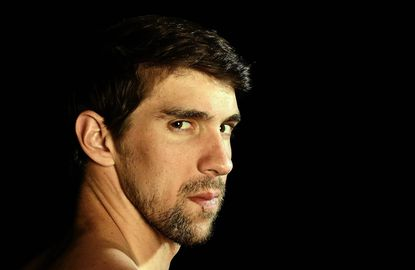 Swimmer Michael Phelps poses for a portrait during the 2012 Team USA Media Summit on May 13, 2012 in Dallas, Texas.