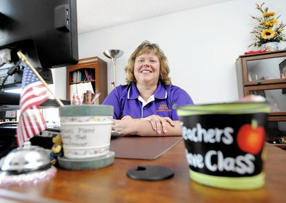 Headshot of Teresa McCulloh, new president of Carroll County Education Association, the county teacher's union.
