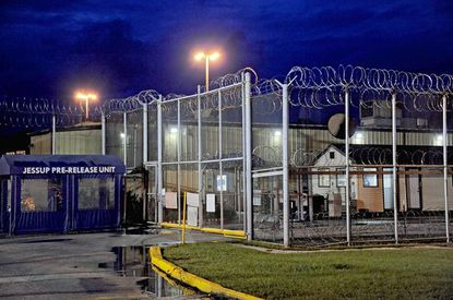 The father and sister of an inmate at Maryland Correctional Institution-Jessup pleaded guilty to smuggling contraband into the prison.