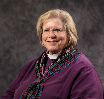 Bishop Heather Elizabeth Cook is the second-ranking official in the Episcopal Diocese of Maryland. The 58-year old is charged with hitting and killing bicyclist Thomas Palermo on Dec. 27. (Handout photo courtesy of Episcopal Church, Chip Lee/Crystal River Media)