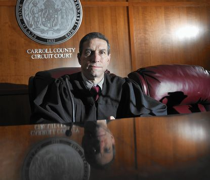 Circuit Court judge Fred Hecker presides over Carroll County's Drug Treatment Court Program, started by Judge Michael Galloway in 2008.