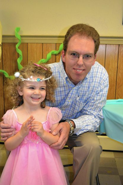 On Saturday, May 30, Dads Works is hosting the ninth annual Daddy Daughter Dance. Hannah and Phil Wallick a pictured at a previous year's Daddy Daughter Dance.