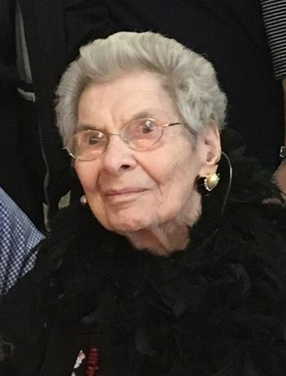 Beatrice Levine had a second job selling outdoor furniture at Stebbins Anderson in Towson.