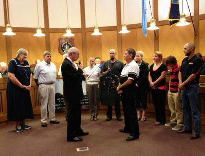 Havre de Grace council honors Vietnam veteran