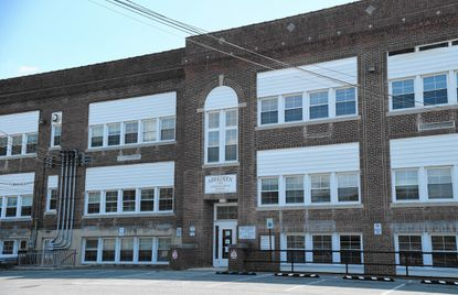 The old Aberdeen High School building at 34 N. Philadelphia Blvd. could become medical offices if the city council moves to waive restrictions on the building's use.