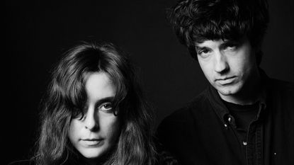 Victoria Legrand (left) and Alex Scally of the Baltimore dream-pop band, Beach House.