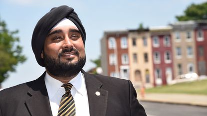 "Virginia developer Kahan S. Dhillon Jr. has proposed a plan he calls ""The Baltimore Renaissance,"" but he says he wouldn't build any of the projects himself."