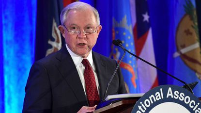 Atty. Gen. Jeff Sessions plans to speak to the California Peace Officers Assn. on Wednesday to announce a challenge to California policies on immigration enforcement.