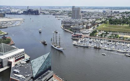 Downtown attractions, including the National Aquarium and Historic Ships in Baltimore, will offer admission for $1 or free the first weekend in December.