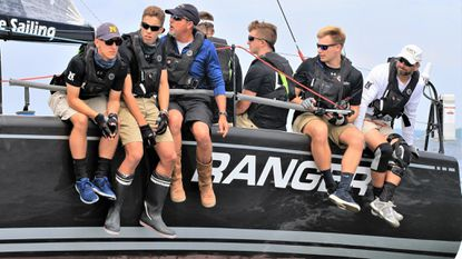 Ranger, a Farr 40 crewed by members of the Naval Academy varsity offshore sailing team, took first in ORC 1A class and earned a slew of awards in the Annapolis-to-Newport Race.