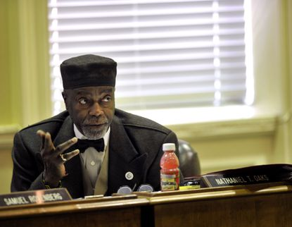 Sen. Nathaniel T. Oaks, a Baltimore Democrat, was appointed to the state Senate in February.