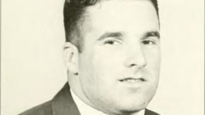 A photo of Kevin Plank from the media guide in his senior year as a Terp.