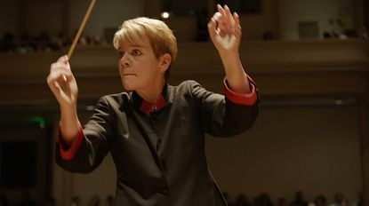 "BSO music director Marin Alsop, from the coming documentary ""We Conduct."""