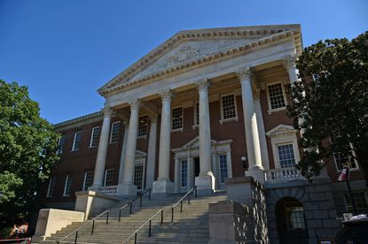 Gov. Larry Hogan is considering layoffs and pay cuts for state employees as a way of balancing a state budget that's been hit by slow tax collections due to the coronavirus pandemic. The Maryland State House in Annapolis is shown in a 2019 photo.