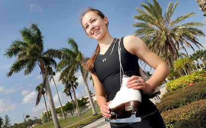 """Bel Air's Kimmie Meissner moved to South Florida and switched coaches to try to get her skating career back on track. """"It was like Christmas,"""" she says of her first days in her new surroundings. """"I rediscovered my love for skating."""""""