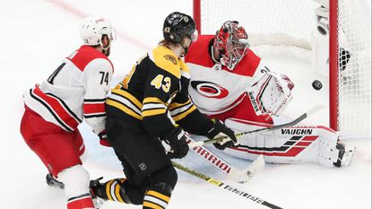 NHL playoffs: Bruins defeat Hurricanes to take 2-0 series lead