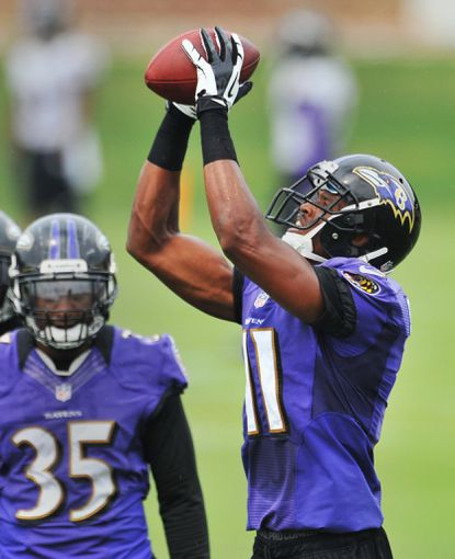 Ravens wideout Tommy Streeter is hoping to make strides in his second training camp after recovering from a foot and ankle injury.