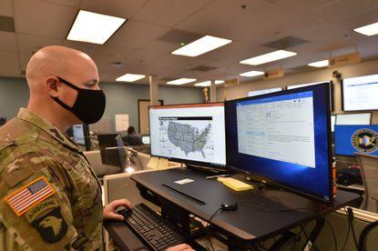 U.S. Army Maj. Doug Meyer, a Maryland native, is the chief operations officer of Operation Warp Speed, the federal coronavirus vaccine development program.
