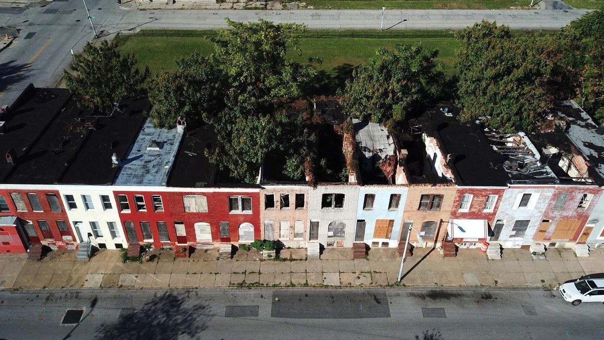 In 2010 Baltimore Had 16 800 Vacants Eight Years And