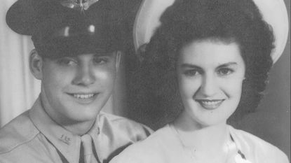 Martha and Vince Gisriel Sr. of Baltimore are shown here as newlyweds.