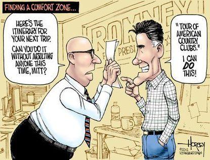Romney's world tour of gaffes