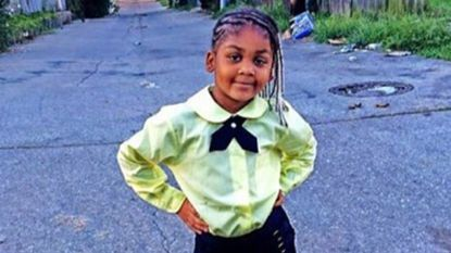 Taylor Hayes, 7, was shot while riding in the back seat of a car in Baltimore, and died July 19.