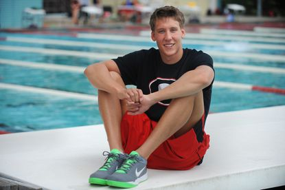 Swimmer Chase Kalisz is establishing himself at a national level in the pool.