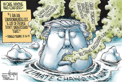 Climate change is a hoax