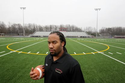 Justin Carey, the former defensive coordinator at Atholton High School, is the new head football coach at Hammond High.