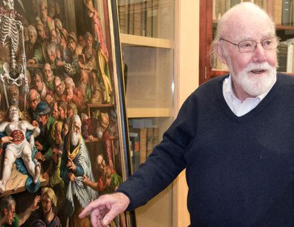 New artwork by renowned painter Joseph Sheppard to be unveiled Friday at UMB