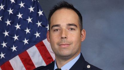 Firefighter Nathan Flynn died while battling a house fire in Clarksville early Monday morning. Flynn fell through the floor of the home. - Original Credit: handout