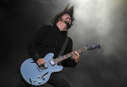 Foo Fighters performing in June in the Netherlands