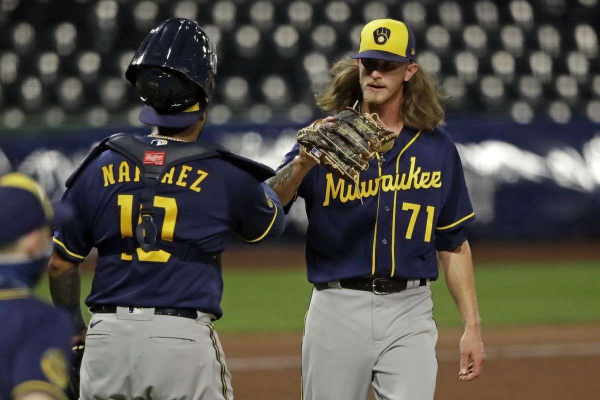It's more than sports': Old Mill grad, Brewers pitcher Josh Hader speaks  out after Bucks players sit out playoff game - Baltimore Sun
