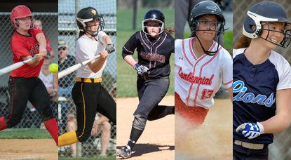 A poll to determine who should be the 2017 Howard County softball Fan's Choice Player of the Year. The nominee's include Howard's Ally Wieman, Glenelg's Katie Dustin, Hammond's Taylor Liguori, Mt. Hebron's Rylee Kinsella and Centennial's Lauren Marcotte. (You may vote once per hour, per device. Poll ends Friday,June 9 at 11 p.m.)