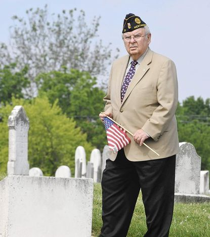 'Skip' Amass leads the charge for Westminster's 145th Memorial Day observance