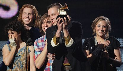 Grammy Awards 2011: Lady Antebellum nears a rout with 'Need You Now'; Arcade Fire's 'The Suburbs' takes album of the year