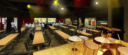 The venue, which has not yet been named, is expected to open next to Clyde's of Columbia by the end of this year.