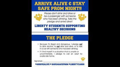 Liberty students campaign for a safe prom