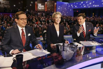 Fox moderators, GOP debate seemed smaller without Trump