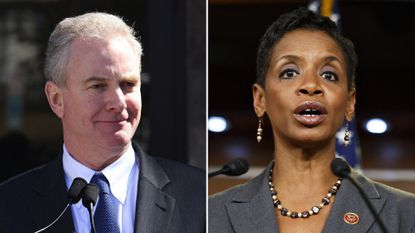 Reps. Donna Edwards (right) and Chris Van Hollen.